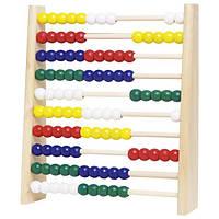 Развивающая игра goki Счетная рамка HS240G, детские деревянные счеты