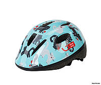 Шлем Green Cycle Kitty, 50 - 54 см, голубой