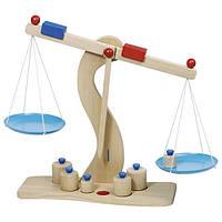 Игровой набор goki Весы, детские игрушечные весы, деревянные весы, обучающие игрушки