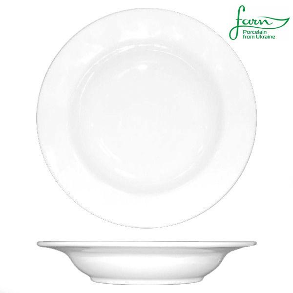 Тарелка фарфоровая глубокая с бортом Farn Harmonie 240мм