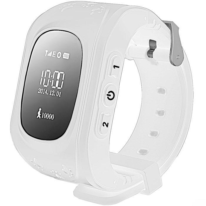 Kids Smart Watch Q50 с GPS трекером (Белые) умные детские часы Kid Baby