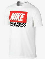 Брендовая футболка Nike, найк, женская/мужская с цветным логотипом КП396