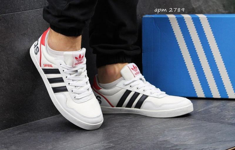 Чоловічі кросівки Adidas Turf Royal білі 148655ee2ff51