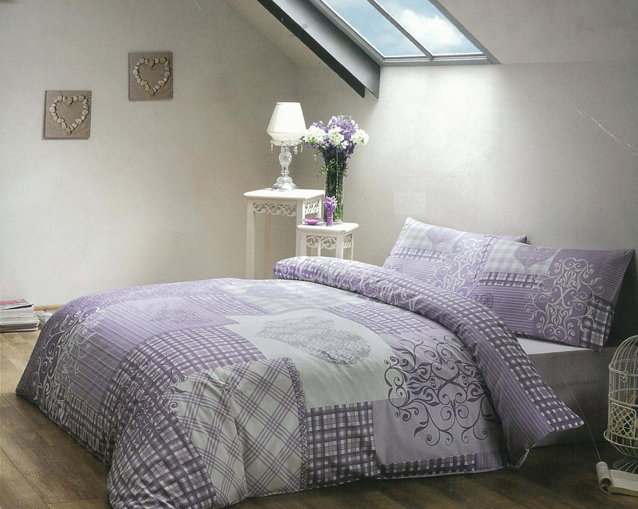 Двуспальный комплект постельного белья Графика