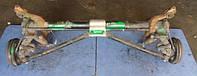 Балка задней подвески под барабаны с ABS в сборе универсалPeugeot206 SW1998-2012