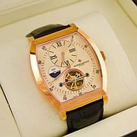 Наручные мужские часы Vacheron Constantin. Достойный аксессуар для делового мужчины. Качественные. Код: КГ1989