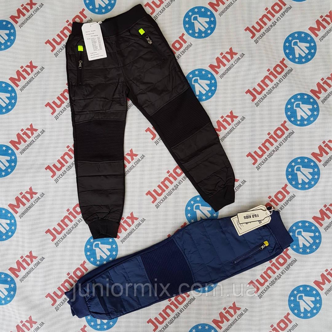 Теплые детские спортивные штаны для мальчиков оптом F&D