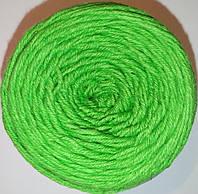 Пряжа для вязания крючком. Цвет: Салатовый.