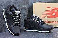 Мужские зимние кроссовки New Balance 754 черные 3165