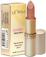 Помада LE POLI Bohemia Cream Lipstick № 01