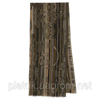 10370 кашне мужское разреженная шерсть 10370-2, павлопосадский шарф (кашне) шерстяной (разреженная шерсть) с осыпкой