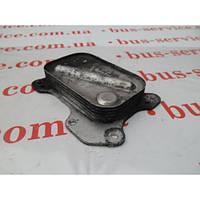 Масляный радиатор для Fiat Doblo 1.3 JTD/Multijet. Теплообменник на Фиат Добло 1.3 джейтд/мультиджет.