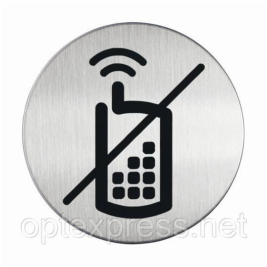 Пиктограмма  «Разговор по мобильному телефону запрещен» DURABLE 4917