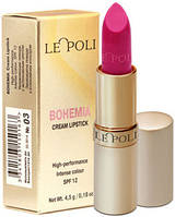 Помада LE POLI Bohemia Cream Lipstick № 03