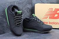 Мужские зимние кроссовки New Balance 754 черные 3167
