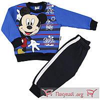 Утеплённый костюм для мальчика с Микки Маусом Размеры: 68-74-80-86 см (5581-3)