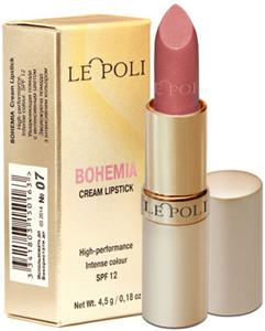 Помада LE POLI Bohemia Cream Lipstick № 07