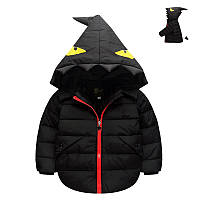 Куртка Зубастик (черн) 100,110,120
