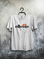 Брендовая футболка ELLESSE, брендовая футболка елсе, белая, КП2092