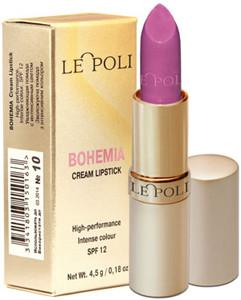 Помада LE POLI Bohemia Cream Lipstick № 10