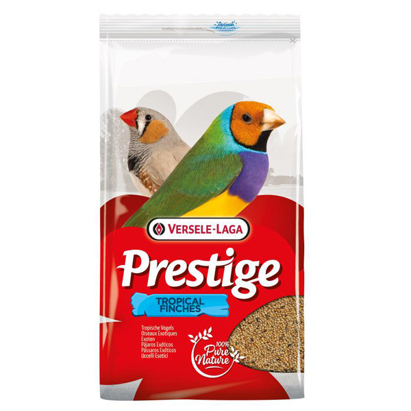 Versele-Laga Prestige Tropical Finches ТРОПИКАЛ ФИНЧЕС 1кг -смесь корм для тропических птиц, зябликов, вьюрков