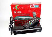 Спутниковый HD ресивер uClan (U2C) B6 METAL модулятор