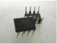 OPA2134PA, Высокоэффективный, 2-х канальный аудиоусилитель, 0.00008%, 8МГц, 120дБ, ±2.5В...±18В, DIP8