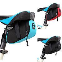 Велосумка под седло от B-Soul, подседельная сумка, разные цвета