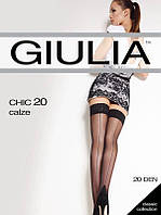 Чулки GIULIA CHIC 20 CALZE 1/2 20 VISONE
