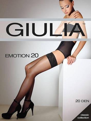 Чулки GIULIA EMOTION 20 20, VISONE, 1/2, фото 2