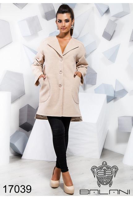 Модное пальто женское (42-46) f9a78378e1f36