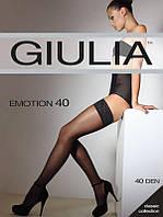 Чулки GIULIA EMOTION 40 3/4 40 FUMO (серый)