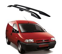 Рейлинги Citroen Jumpy 1996-2007 с пластиковым креплением