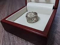 Женское широкое кольцо без камней, фото 1