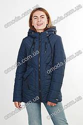 Куртка демисезонная синяя Кети