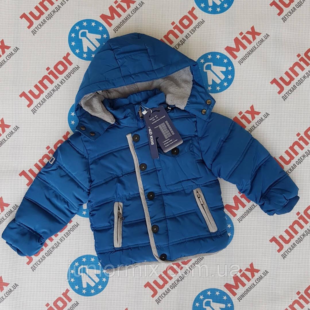 Детская зимняя куртка для мальчика оптом F&D