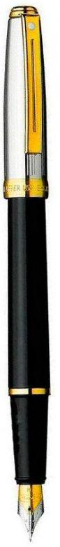 Ручка перьевая Sheaffer PRELUDE WW10 Black/Palladium GT FP M Sh337004-10ЧЧ черный