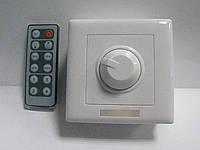 Диммер для LED ленты 12V 6A с инфракрасным пультом