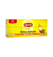 Чай черный Lipton royal ceylon black tea 25пак/50г (Украина)