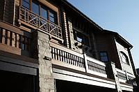 Отделка домов натуральной древесиной