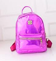 Голографический рюкзак среднего размера в 5 цветах.