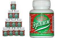 Эрлим ( антипаразитарный препарат для детей)