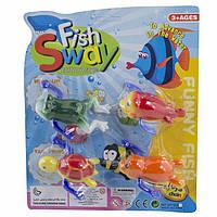 Игрушка заводная для купания Морские животные 2 вида MY508C