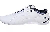 Кроссовки мужские Puma BMW Motorsport (white) - 21Z кожаные кроссовки пума, кроссовки пума