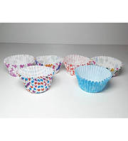 Бумажная форма для выпечки кексов (1000 шт) A-Plus, арт. 012P