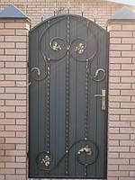 Двери с художественной ковкой 1
