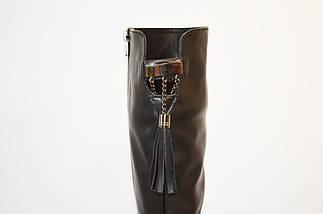 Сапоги женские кожаные зимние Aquamarin, фото 2
