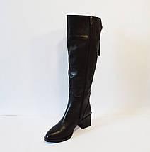 Сапоги женские кожаные зимние Aquamarin, фото 3