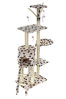 Когтеточка домик для кота ANI-LIFE 138см
