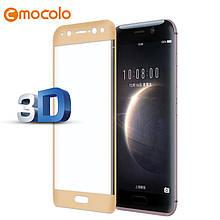 Защитное стекло Mocolo 3D 9H на весь экран для Huawei Magic золотистый